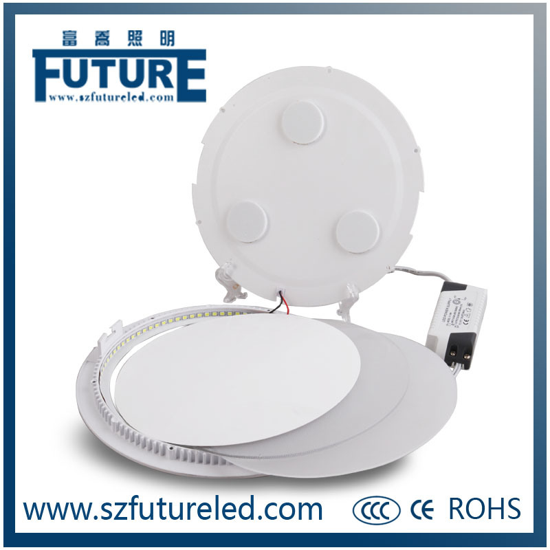 Ceiling Light Fixtures 9W Round LED Panel Light for Household