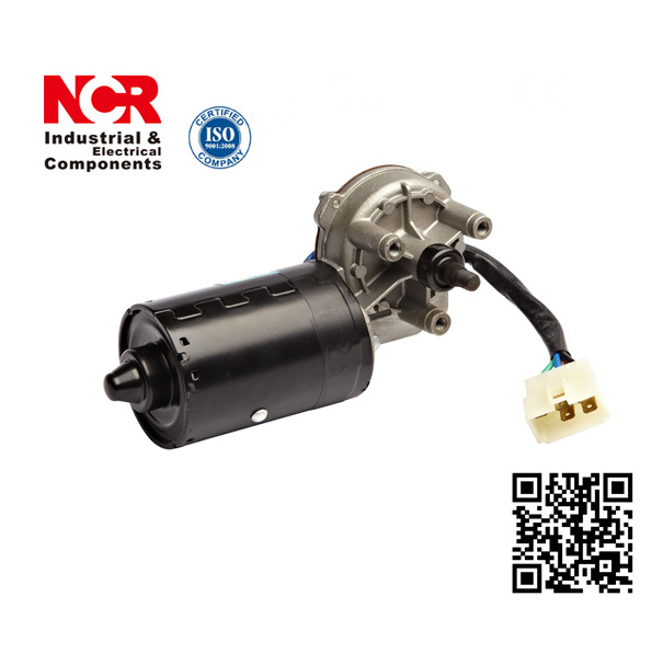 Engineering Vehicle Wiper Motor, 12V, 55rpm, 6nm with Current Protector (NCR-2130)