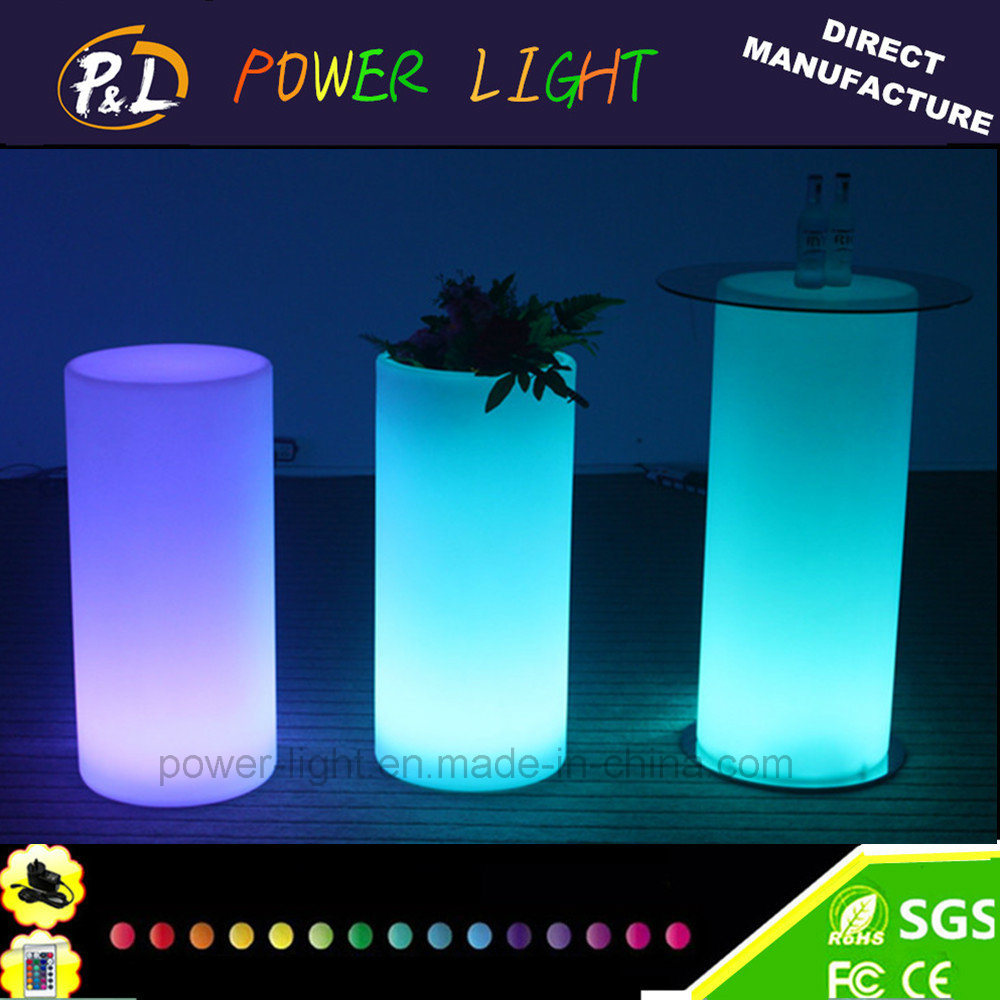 Garden Furniture Rechargeable Illuminated LED Vase