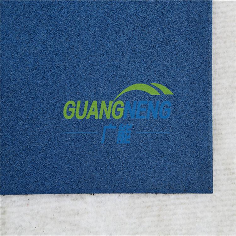 Interlocking Colorful Rubber Tiles, Anti-Slip Gym Flooring Mats, Wearing-Resistant Rubber Tile