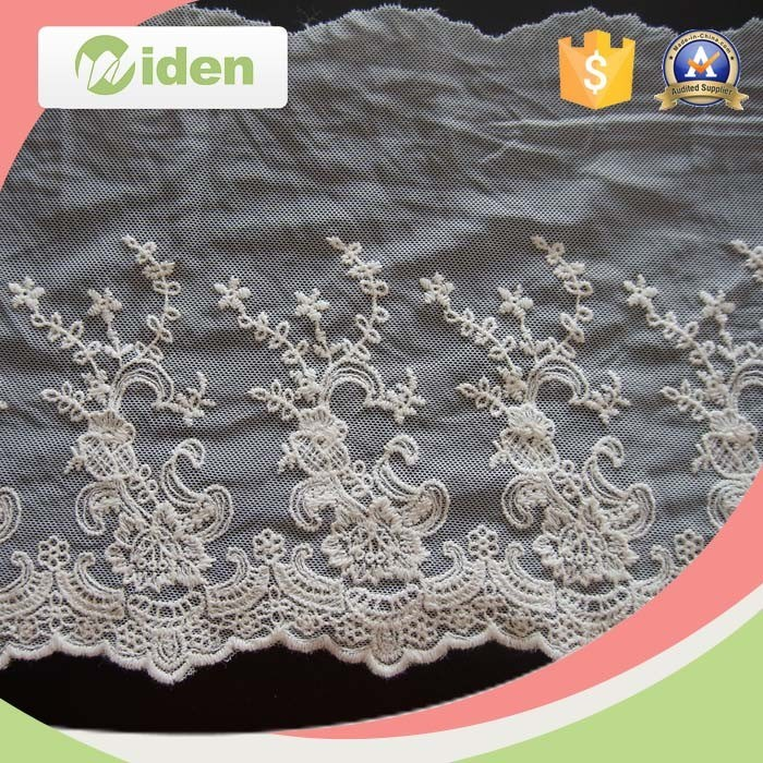 Heavy Bobbin Cutwork Lace Embroidery Designs Sequins Lace Ribbon