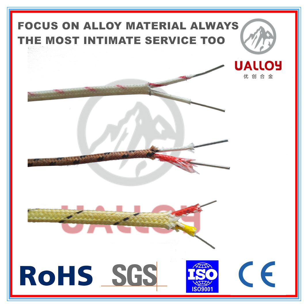 Type J Ceramic Fiber Insulated Thermocouple Compensation Cable