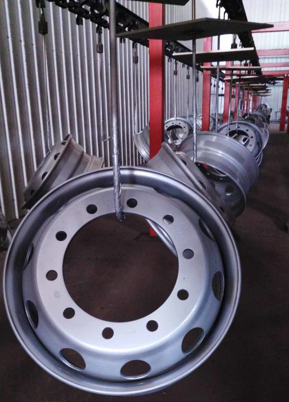 Truck/Trailer/Bus OEM Factory Steel Wheel Rims (8.5-24, 22.5*9.00, 22.5X8.25/11.75, 8.00V-20)