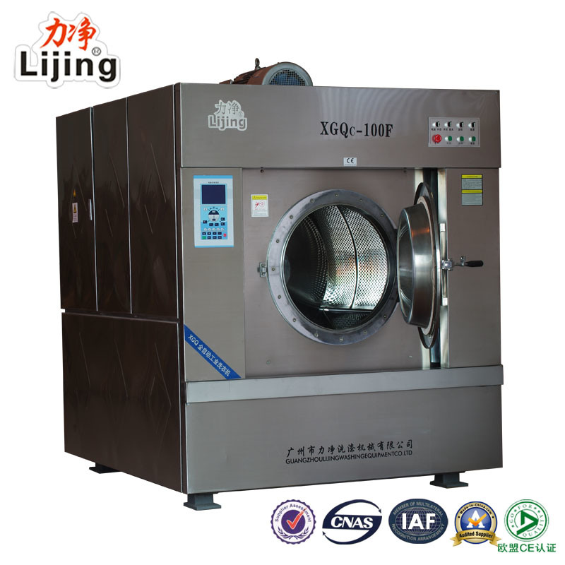 2016 Newly Updated 50kg Fully Automatic Commercial Washer Extractor for Laundry Sevices Equipment