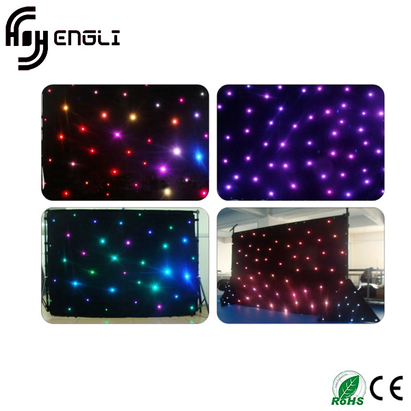 RGB LED Stage Star Cloth with CE & RoHS (HL-051)