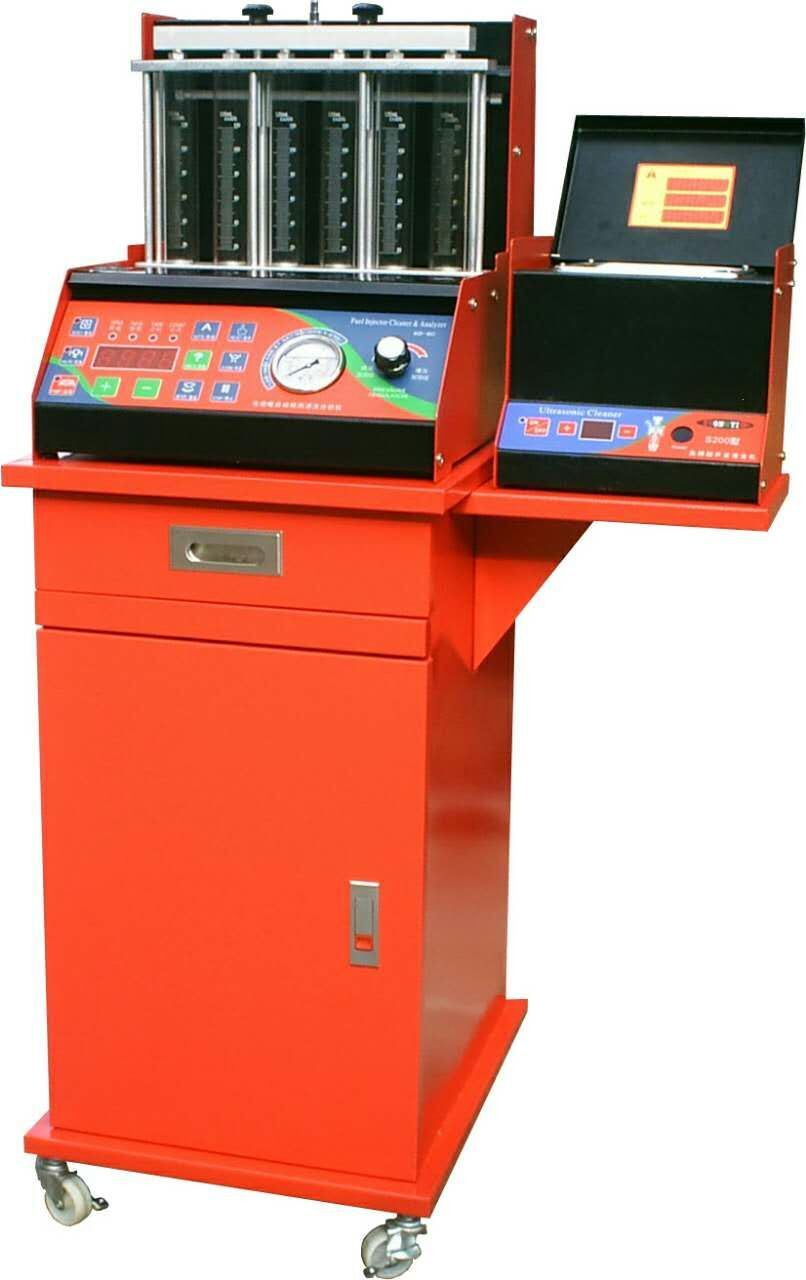 Hw-6D Fuel Injector Cleaning Machine