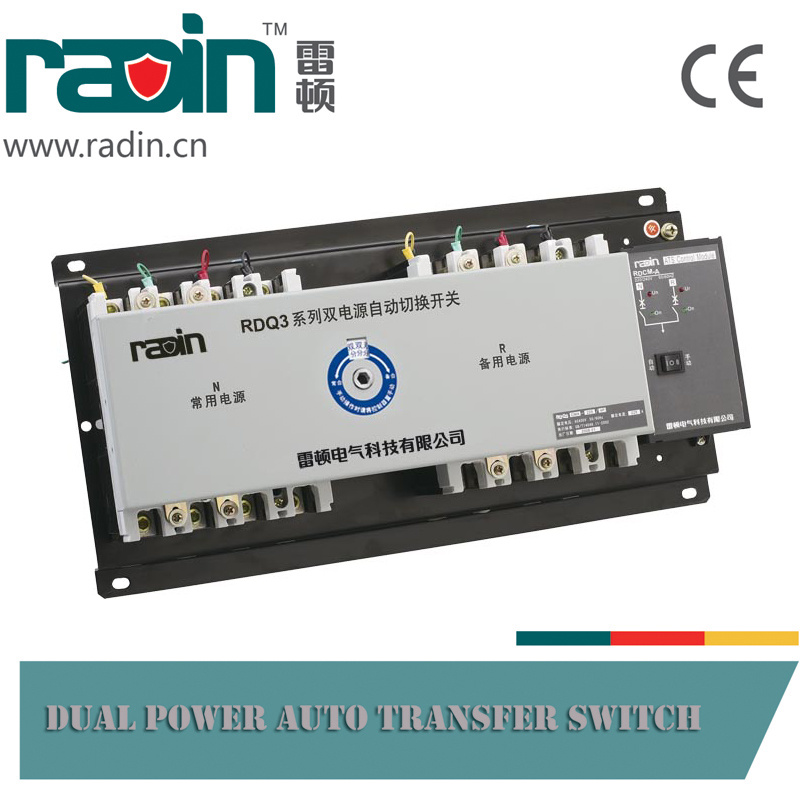 Rdq3cma Type Dual Power Automatic Transfer Switch, Changeover Switch