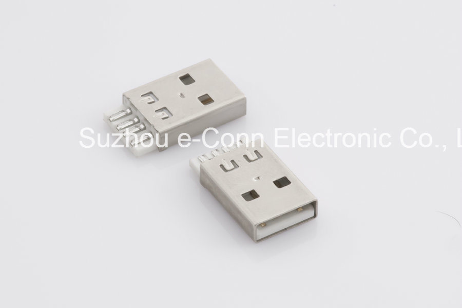 USB2.0 Male/Female Connector PCB End Wire to Wire