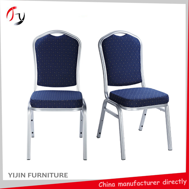 Stacking Aluminum Wedding Restaurant Hotel Banquet Chair (BC-01)