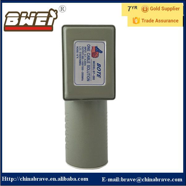 Universal Single Output Dual L. O Frequency 5150/5750MHz C Band LNB