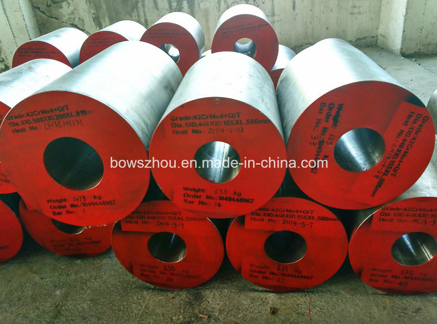 [42CrMo4] Hollow Forging Bar, Alloy Steel Round Hollow Bar