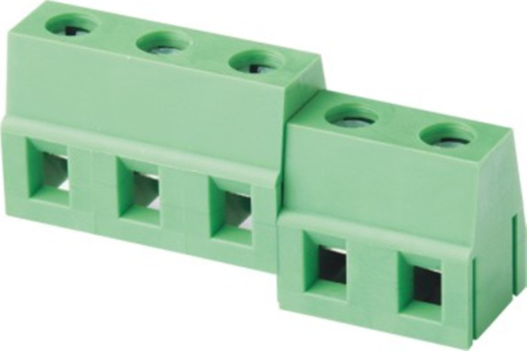 5.0mm Pitch PCB Screw Terminal Block for PCB Board (WJ128-5.0)