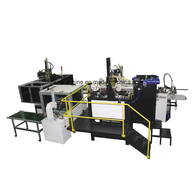 Automatic Rigid Box Making, Inner Paper Pasting, Bubble Cleaning Integrated Machine (YX-6416)