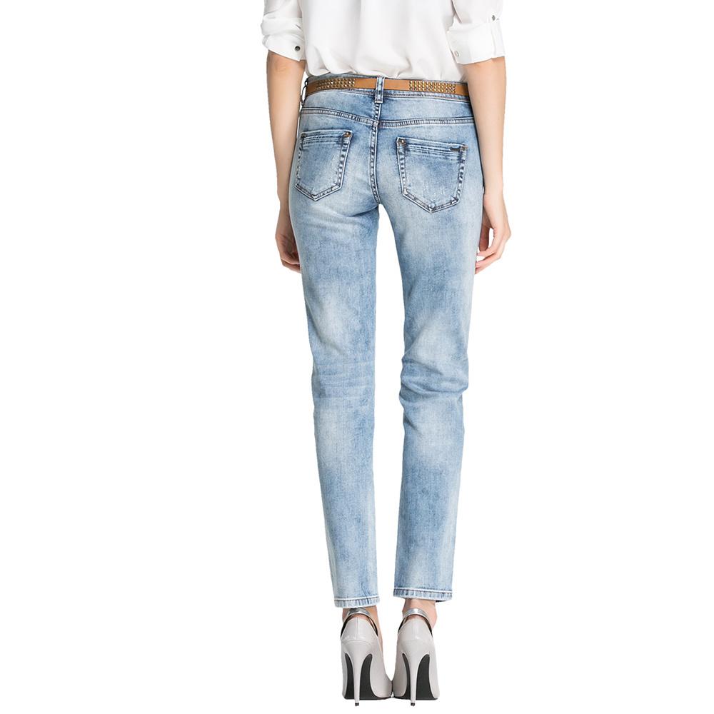 2016 Wholesale Fashion Women Cotton Blue Denim Jeans