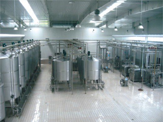 Automatic Pasteurized Milk Processing Line