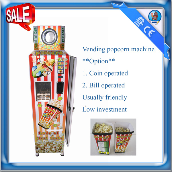 Automatic Vending Popcorn Machine HM-PC-18