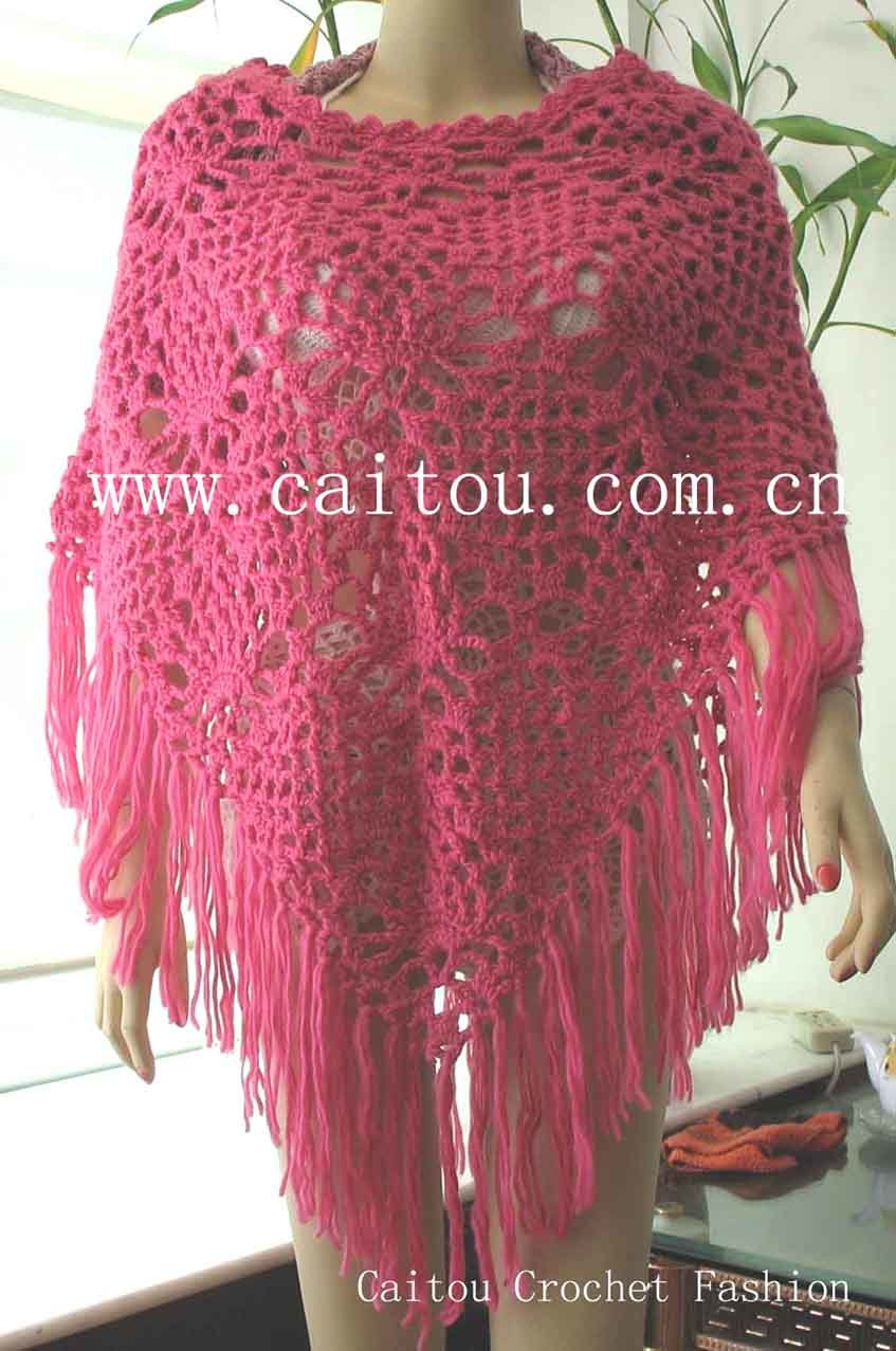 CROCHET PATTERNS FOR A PONCHO - Crochet Club