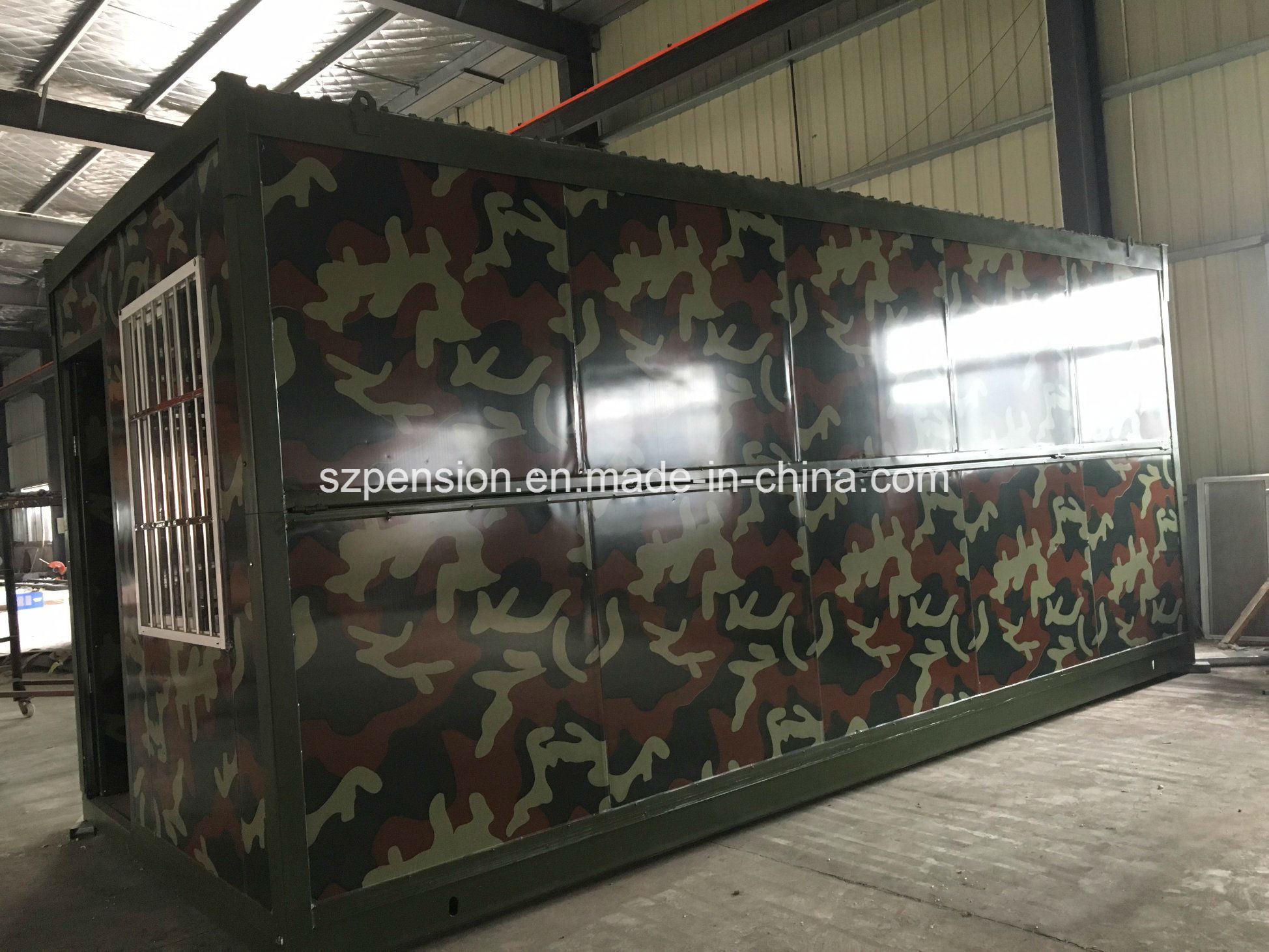 Modern Fireproof Mobile Prefabricated House Container House