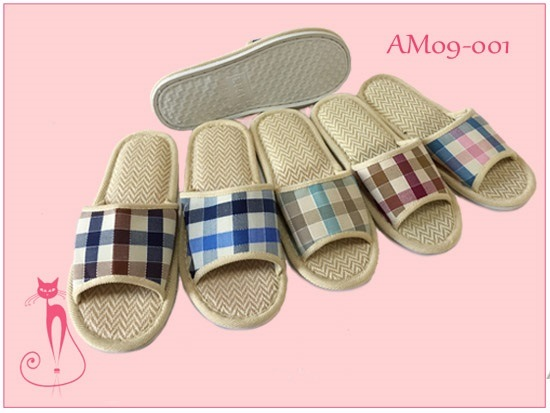 New Hot Linen Summer Open PVC Slippers