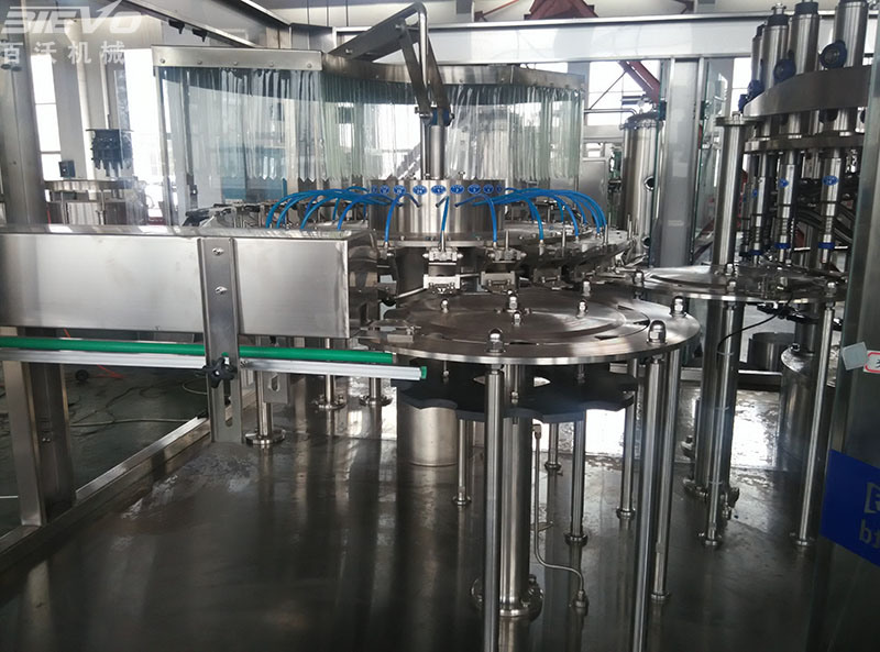 Fully Automatic Pet Bottle Mineral Water Filling Bottling Machine
