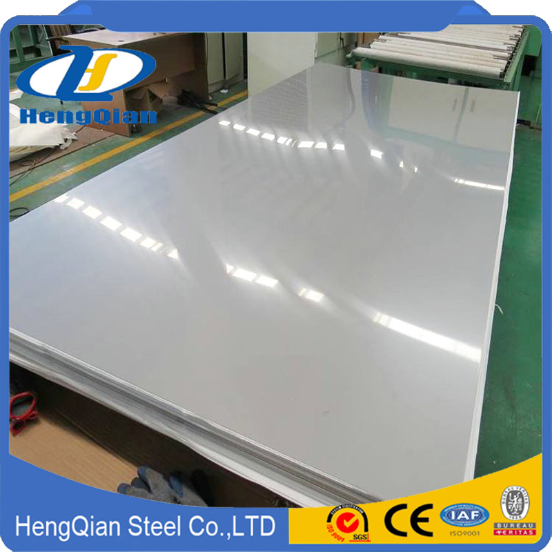 ASTM A240 Duplex 201 304 316L 310S 321 430 2b Ba No. 4 Finish Stainless Steel Sheet