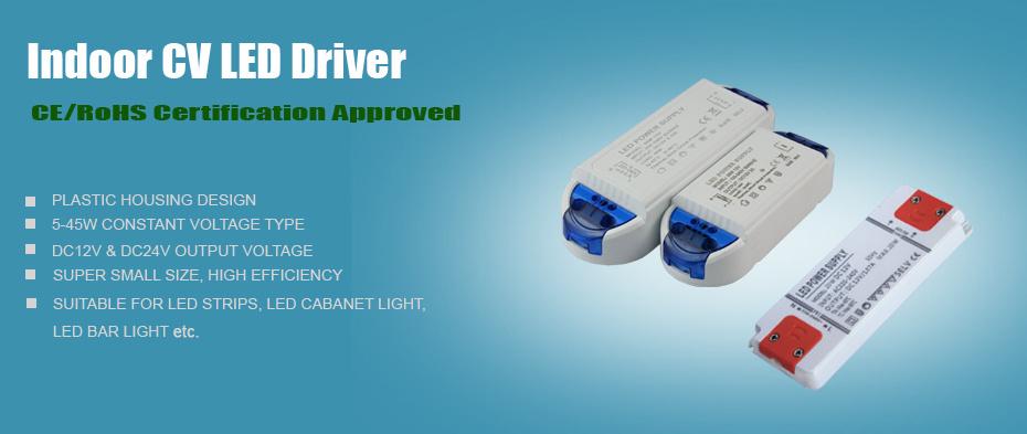 IP20 Super Slim Plastic Power Supply 60W