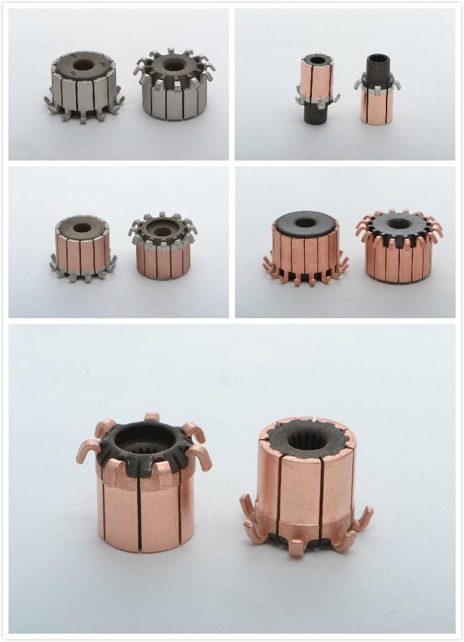 Hooks Groove Type Commutator for DC Motor with Car Motor (7 Hooks ID3.15mm OD8.6mm L8.9mm)