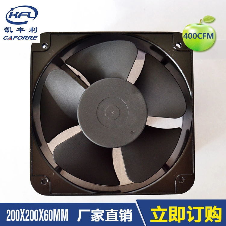 Kfl20060 440cfm Big Air Flow AC Cooling Fan