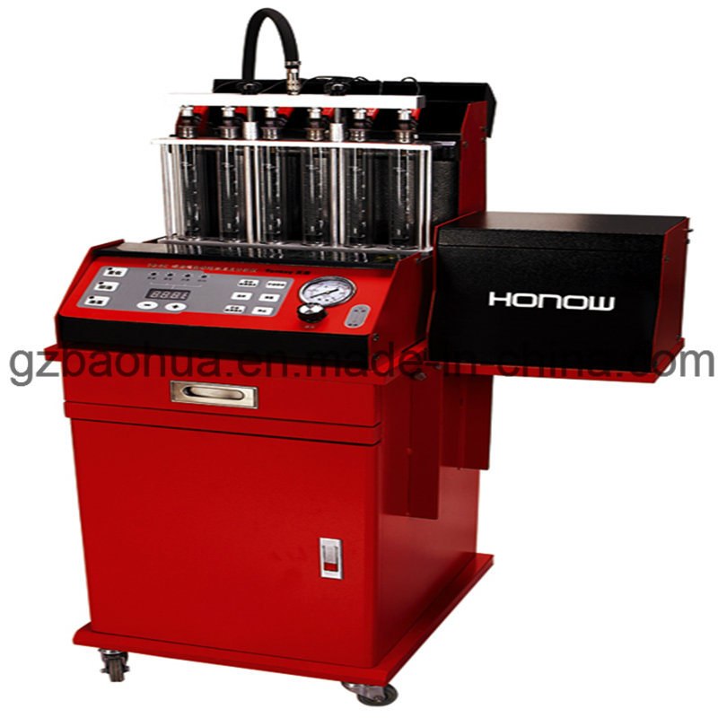 Ho-6c Automatic 6 Cylinders Injector Tester &Cleaner