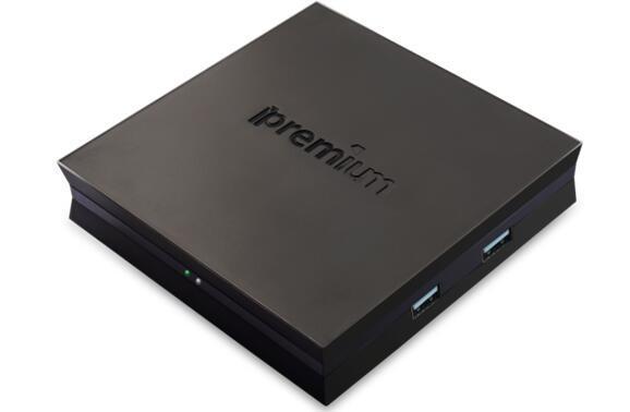Ipremium I7 Quad-Core Streaming Player IPTV Box DVB-S2