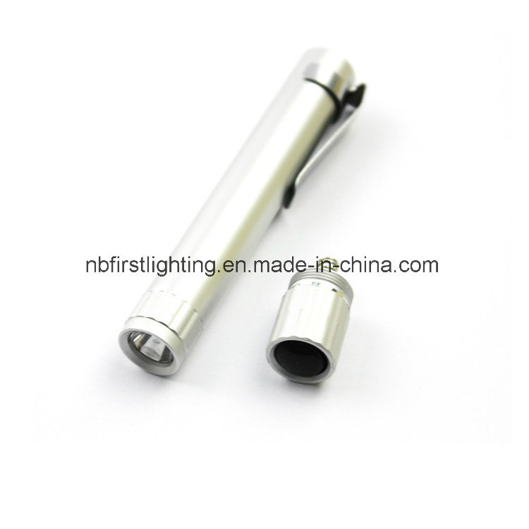 Aluminium LED Penlight with Convex Lens