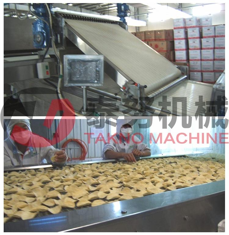 Large Capacity Potato Chips Machine