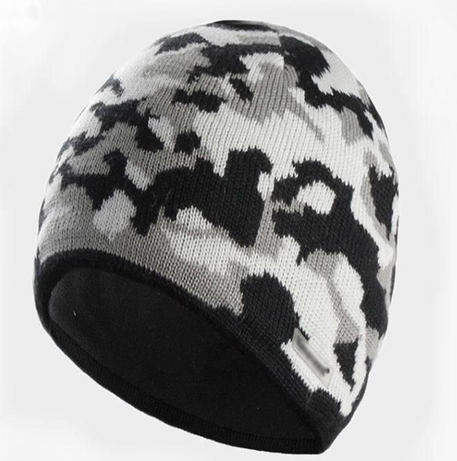 Custom Jacquard Knitted Winter Ski Hat for Sport