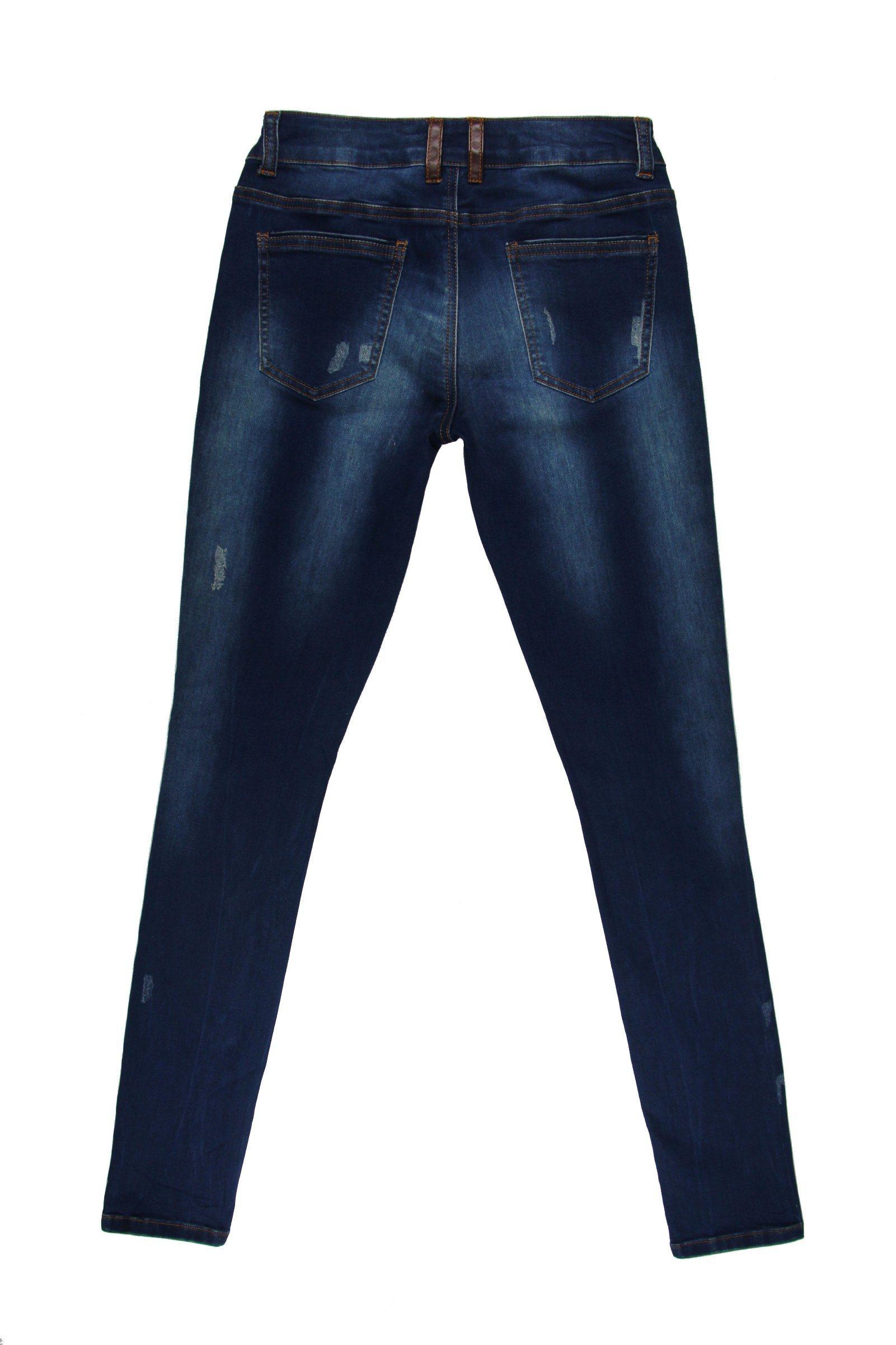 2017 Lady′s Summer Popular Hole Jeans (MYB05)