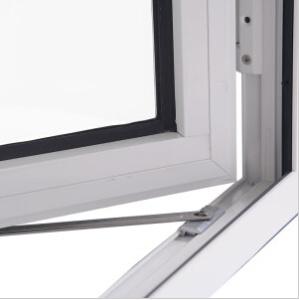 Double Glazed Pvccaement Window UPVC Casement Tilt and Turn Glass Window