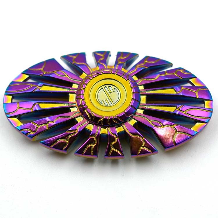 Rainbow Thor Design Metal Fidget Spinners