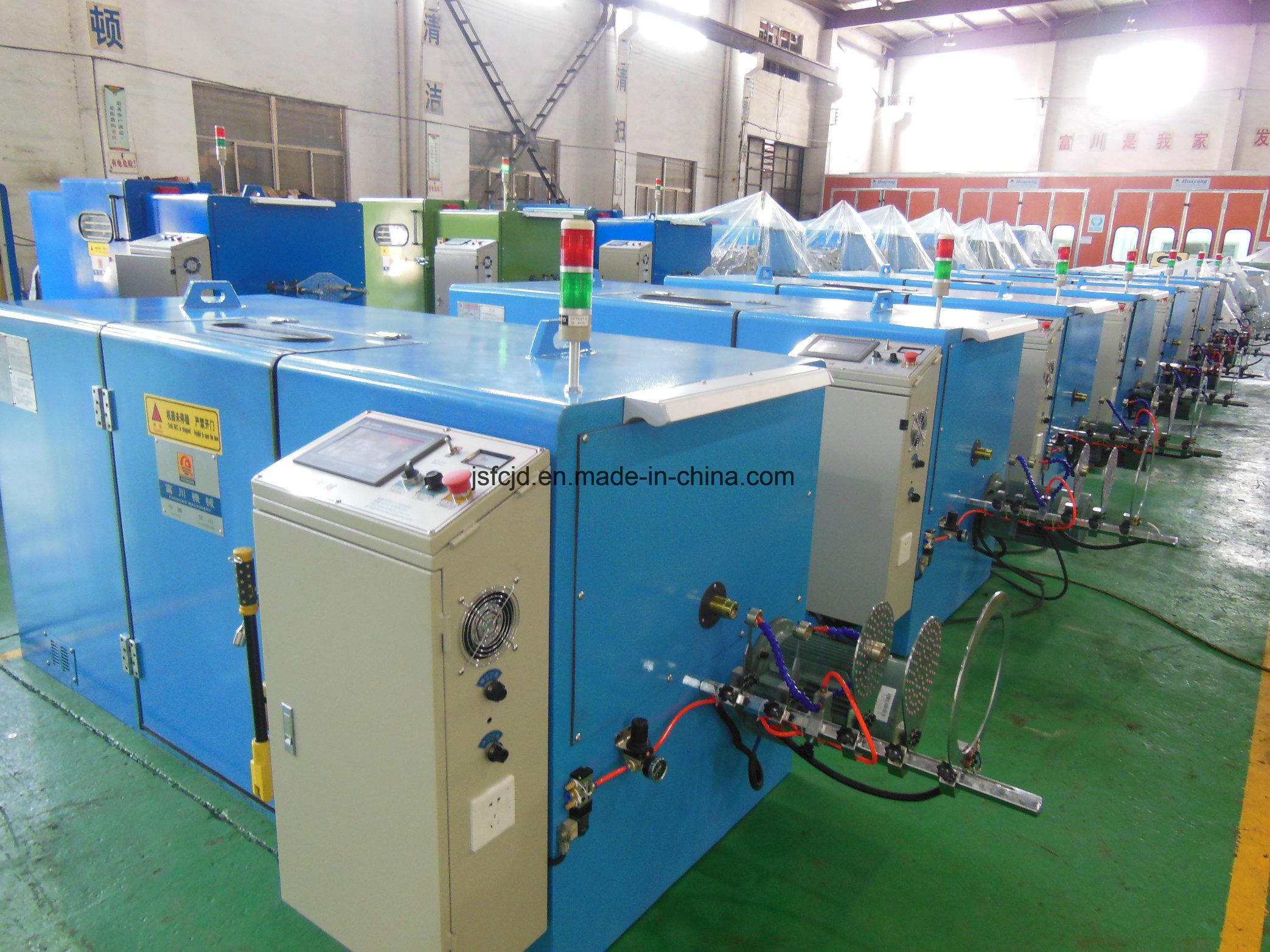 Ultra-Fine Electrical Cable Wire Twisting Machine (FC-300B)