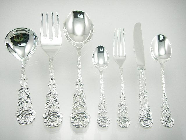 Silver Plated Dinnerware Cutlery Set