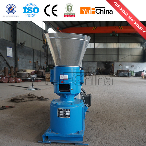 Flat Die Wooden Pellet Machine for Making 6mm/8mm Wood Pellets