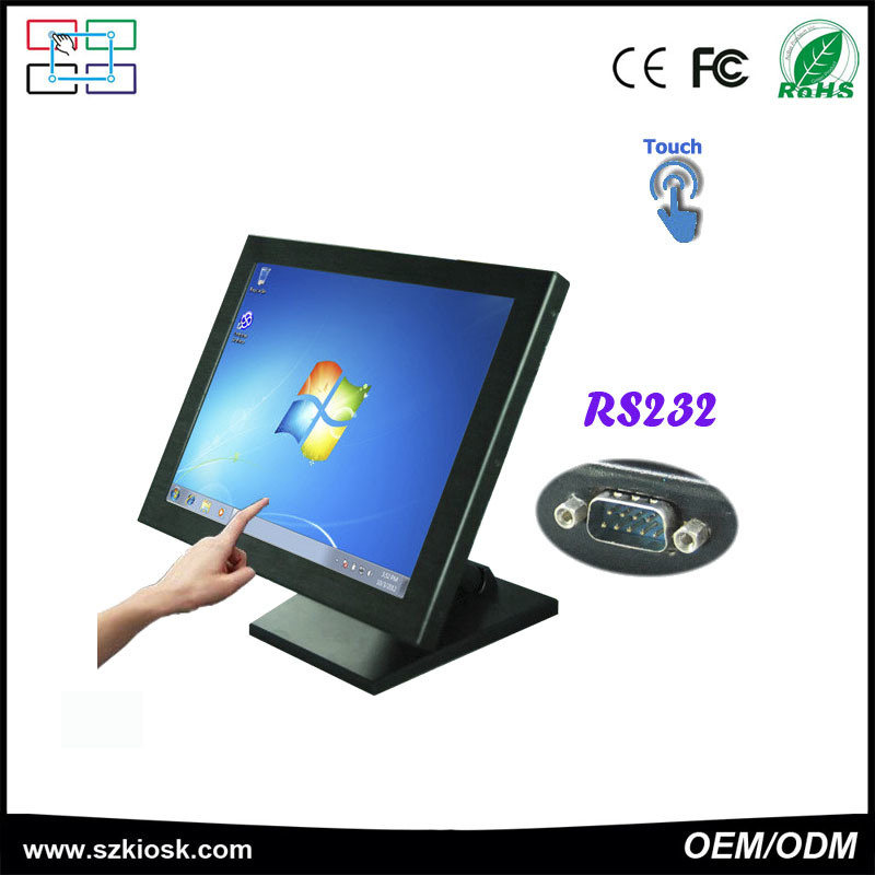 17 Inch LCD Resistive Touch Screen Monitor Support OEM/ODM