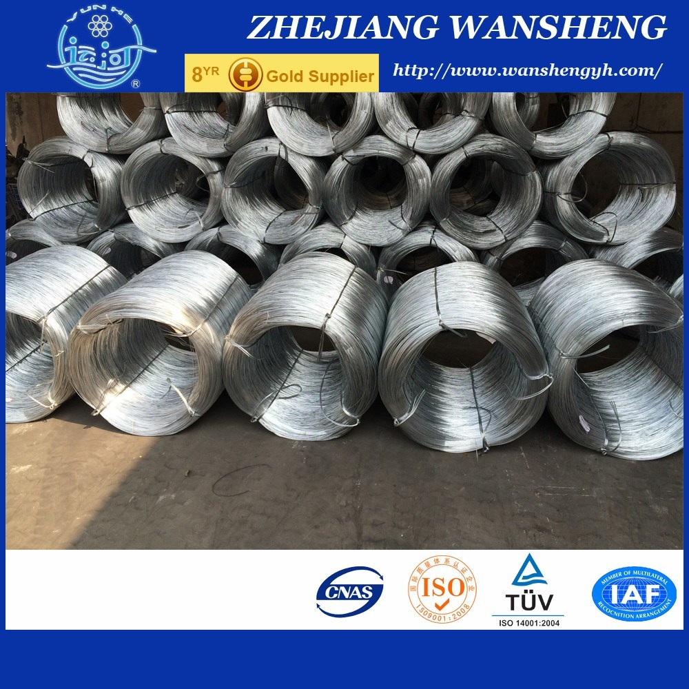 4.0mm Steel Wire Zinc Coating High Carbon/ Low Carbon From Chinese Supplier
