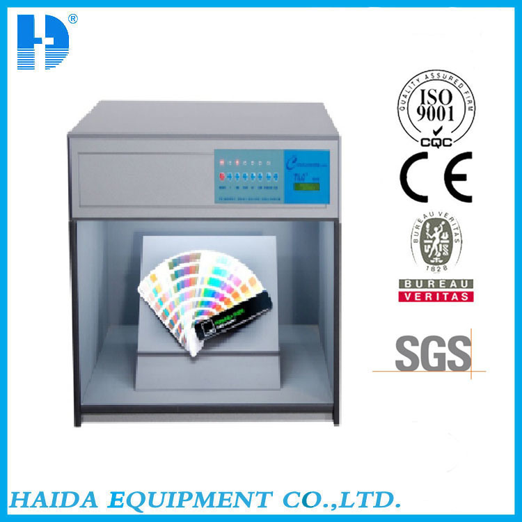 Color Printing Products Color Assessment Cabinet for Textile / Fabric Test