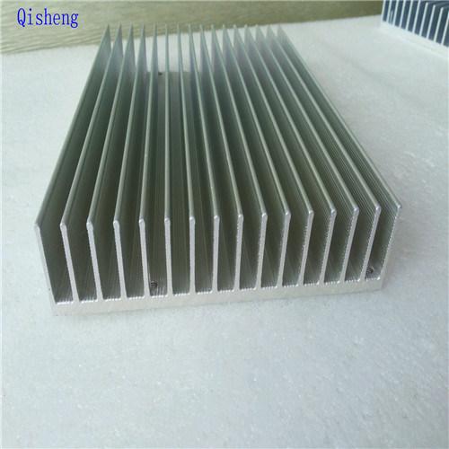 Heatsink, CNC Machining, Black Anodized, Custom Make