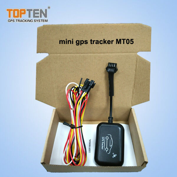 Mini GPS Tracker for Motorcycle & Car with Waterproof Design Mt05-Ez
