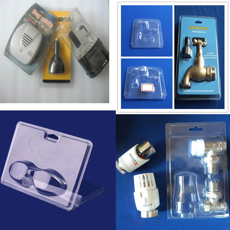 Vacuum Thermoform packing double blisters made-in-China
