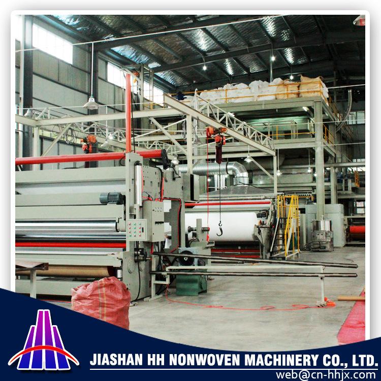 1.6m SMMS PP Spunbond Nonwoven Fabric Machine