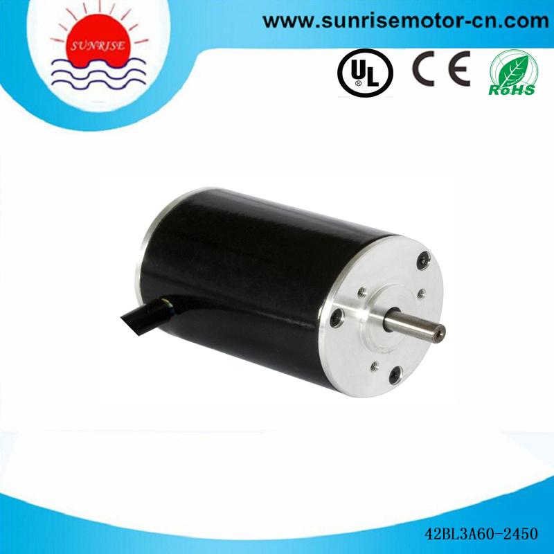 42bly3a60 24V 5000rpm DC Motor Electric Motor Low Voltage BLDC Motor