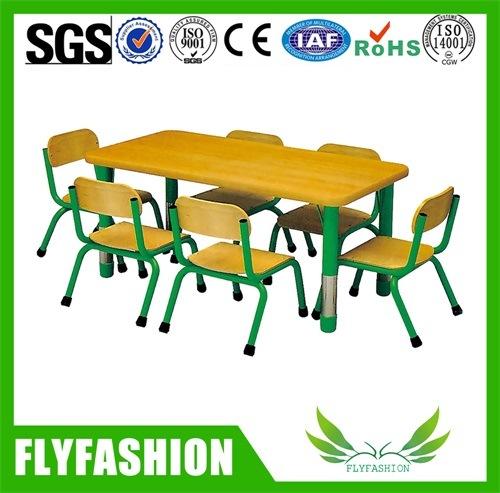 Kindergarten Furniture Kids Plastic Tables Chair Sets