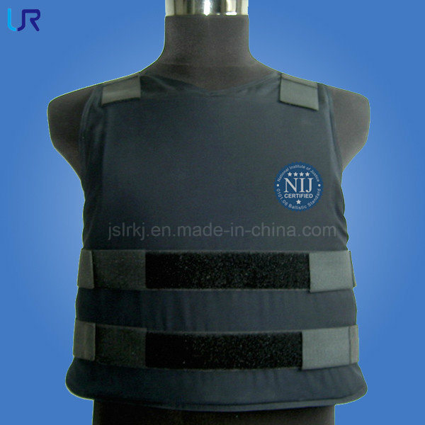 Concealable Kevlar Soft Body Armor Bullet Proof Vest