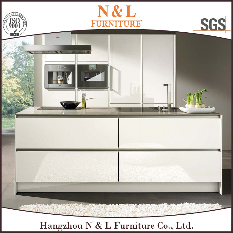 MDF Wooden Furniture Modern Style Wood Kitchen Cabinet